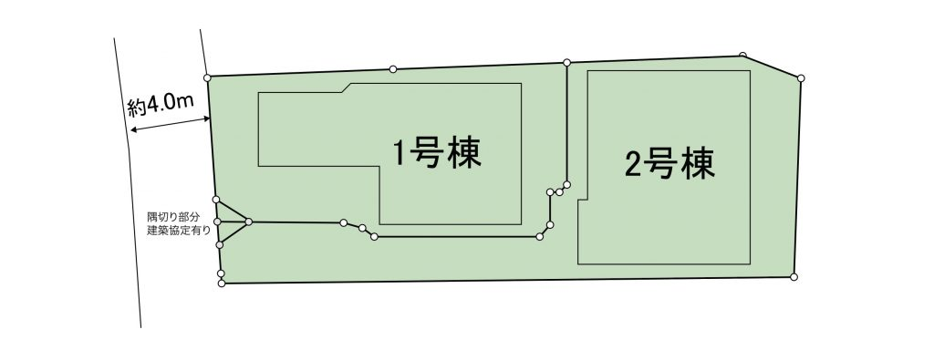 横浜山手の家・区画図