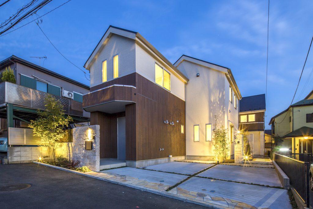 横浜市中区・新築分譲住宅【横浜】山手の家・外観