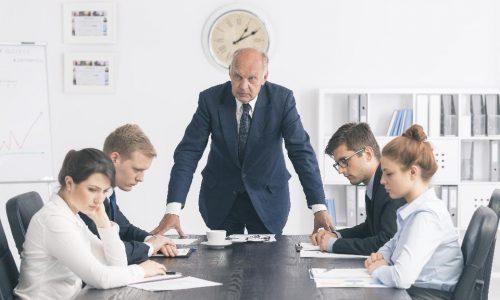 不動産経営者必読!正しい社員の叱り方。